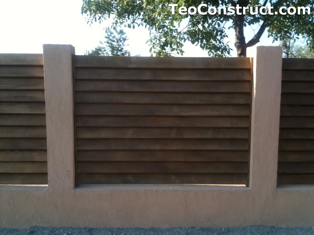 Garduri lemn Galati 7