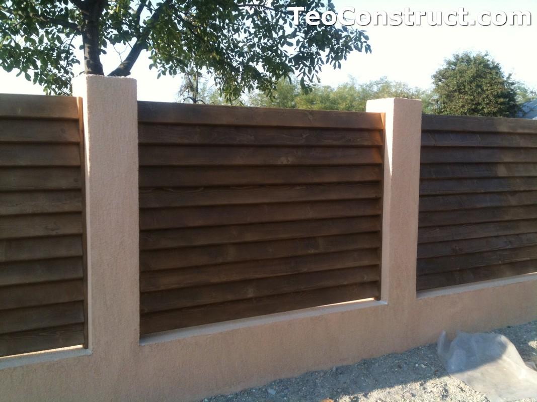 Garduri lemn Galati 8