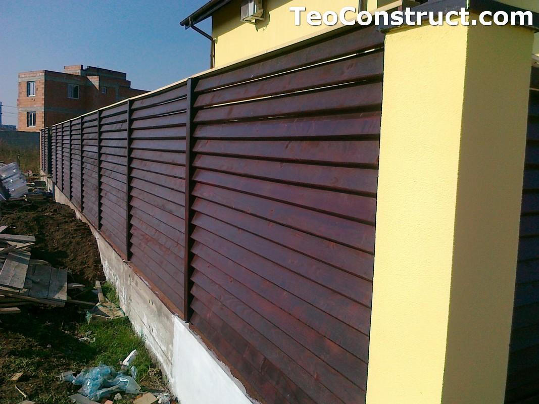 Garduri lemn Tulcea 1