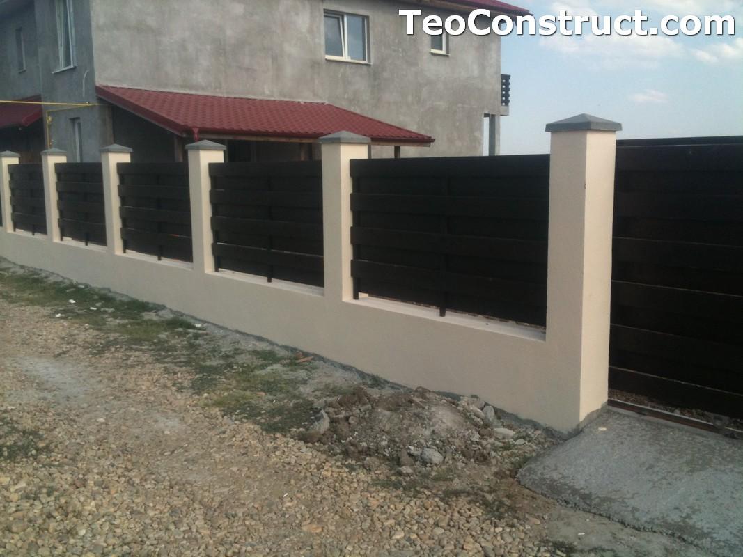 Garduri ornamentale din lemn Alba Iulia 1