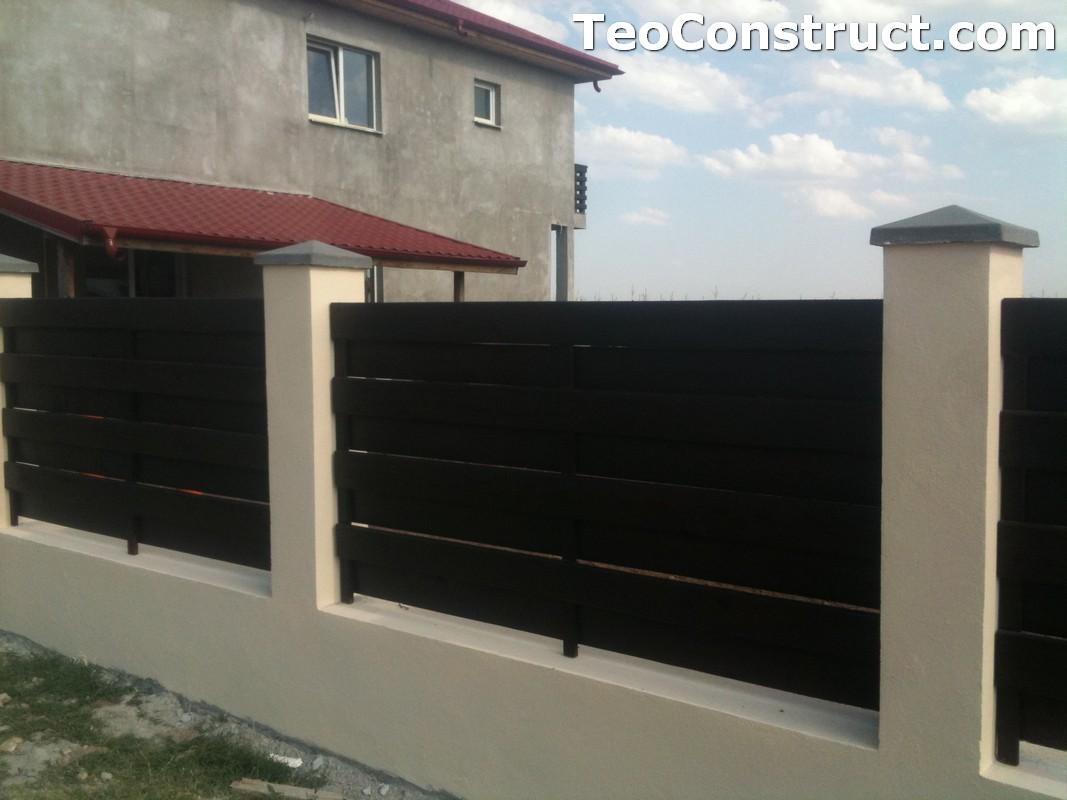Garduri ornamentale din lemn Alba Iulia 2