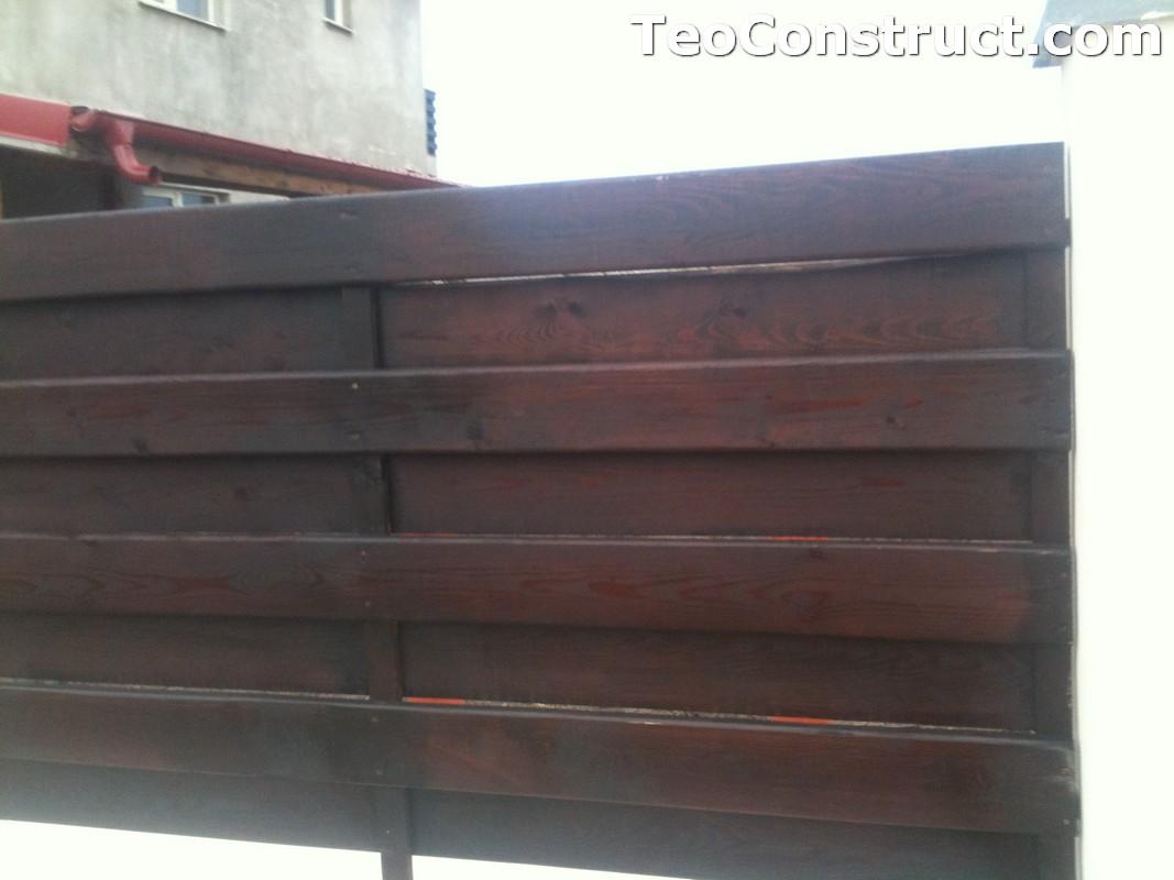 Garduri ornamentale din lemn Alba Iulia 6