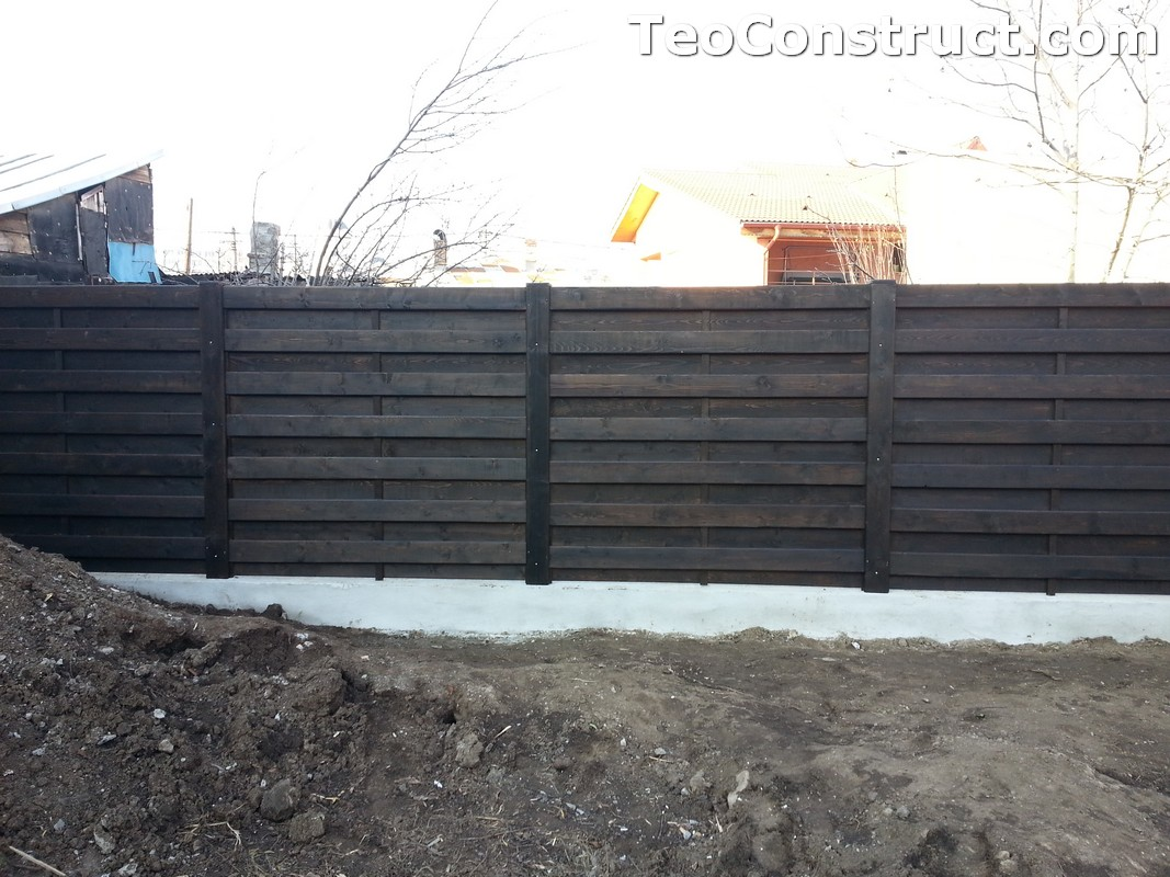 Garduri ornamentale din lemn Lugoj 1