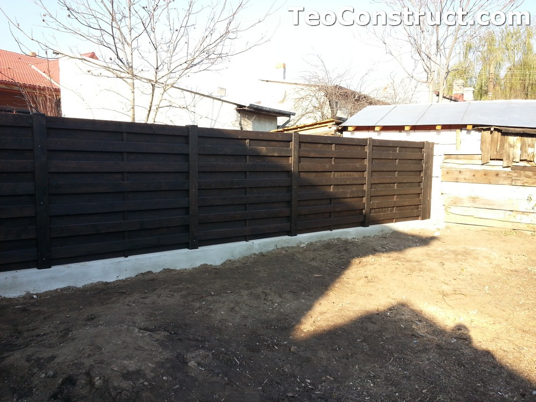 Garduri ornamentale din lemn Lugoj 3