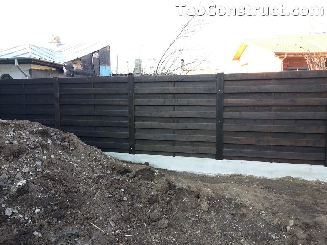 Garduri ornamentale din lemn Lugoj 4