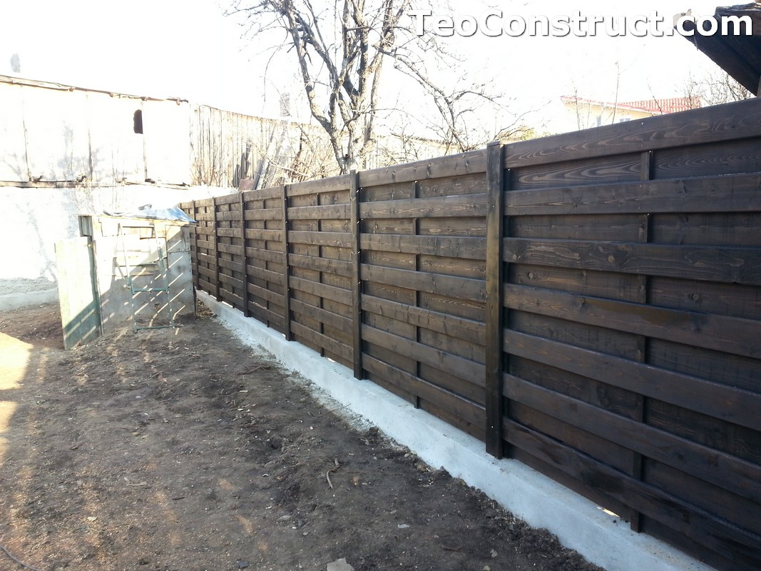 Garduri ornamentale din lemn Lugoj 5