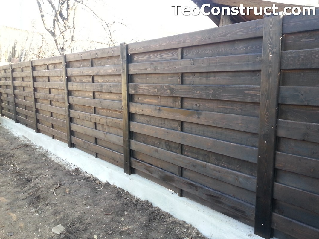 Garduri ornamentale din lemn Lugoj 6