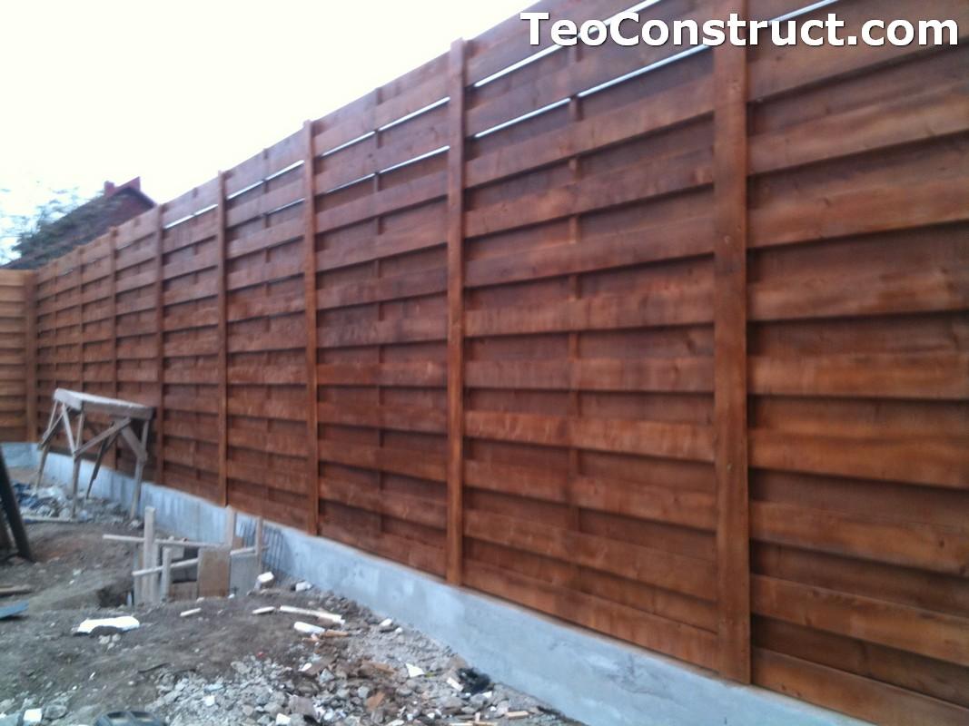 Garduri ornamentale din lemn Slatina 1