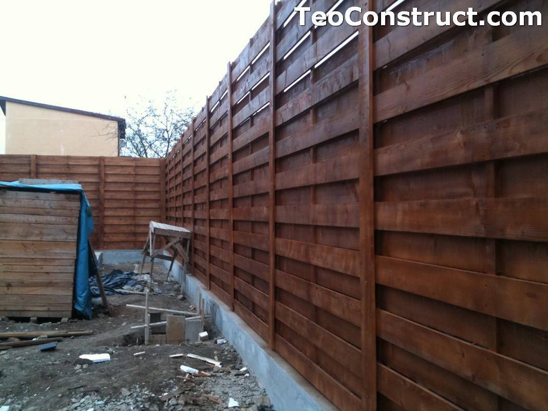 Garduri ornamentale din lemn Slatina 2