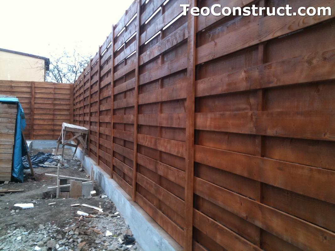 Garduri ornamentale din lemn Slatina 3