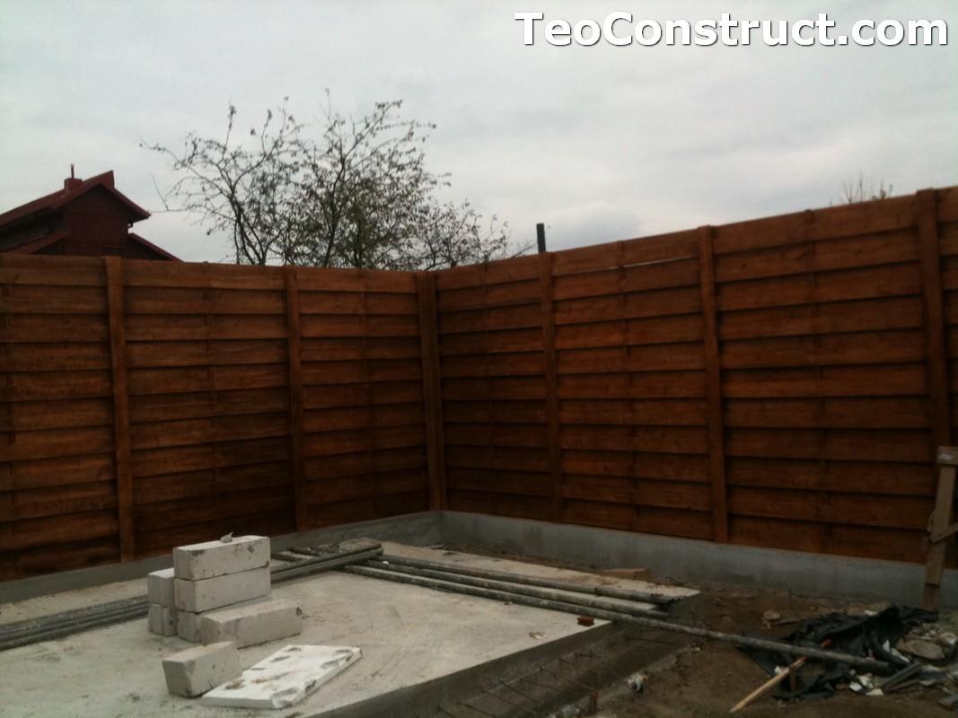 Garduri ornamentale din lemn Slatina 4