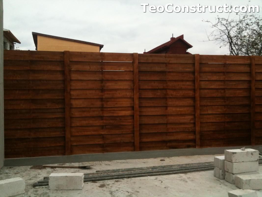 Garduri ornamentale din lemn Slatina 5