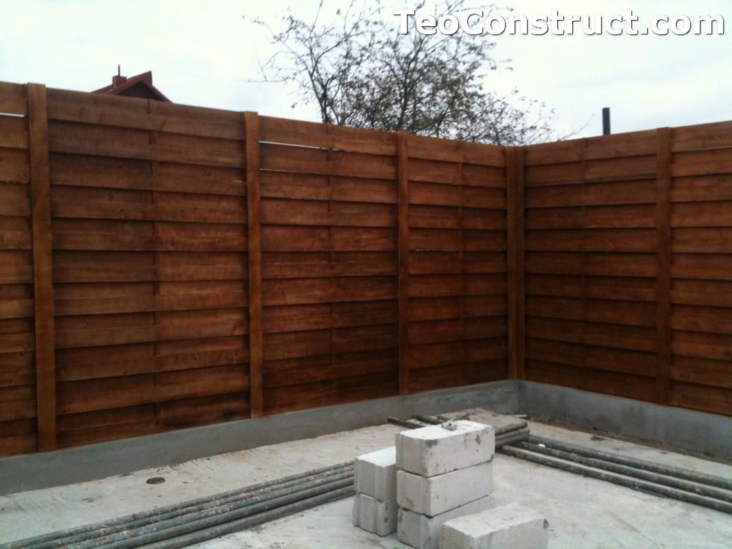 Garduri ornamentale din lemn Slatina 6
