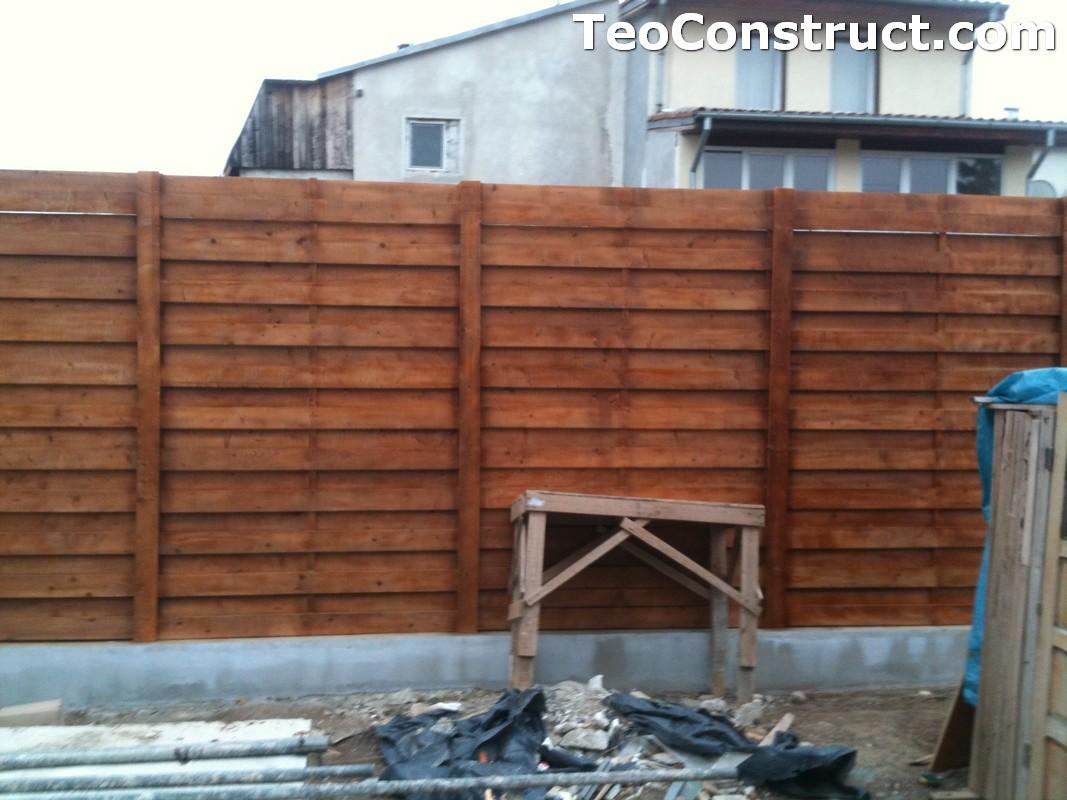 Garduri ornamentale din lemn Slatina 7