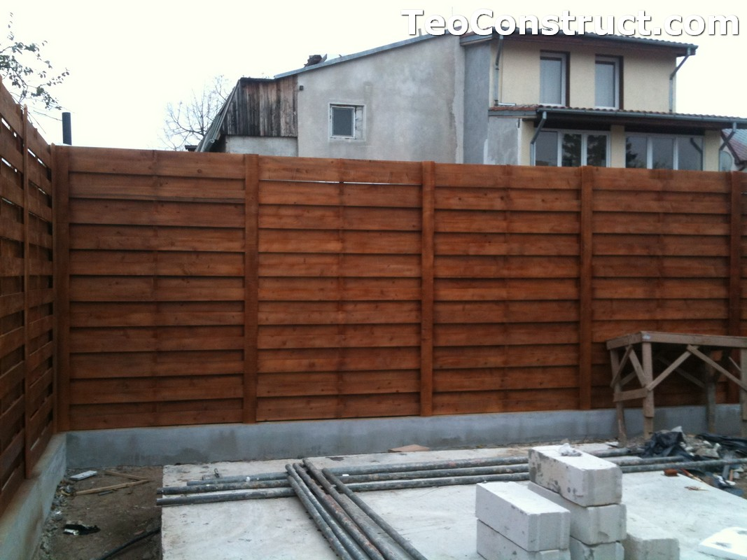Garduri ornamentale din lemn Slatina 8