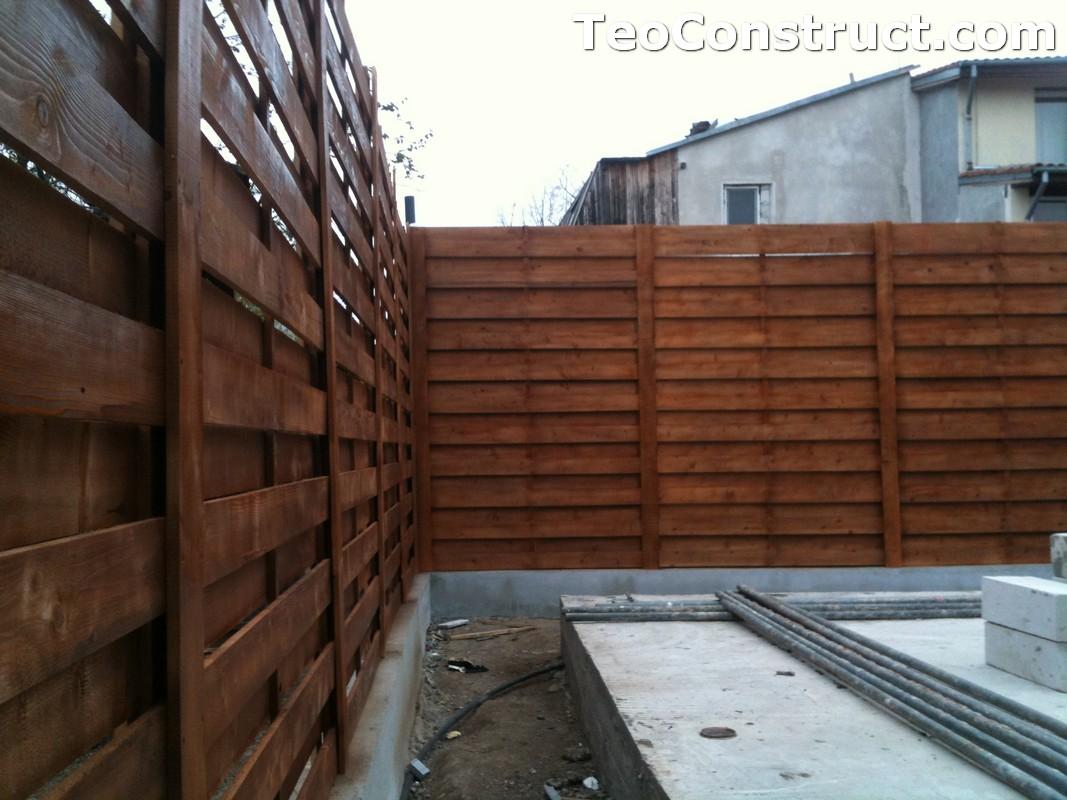 Garduri ornamentale din lemn Slatina 9