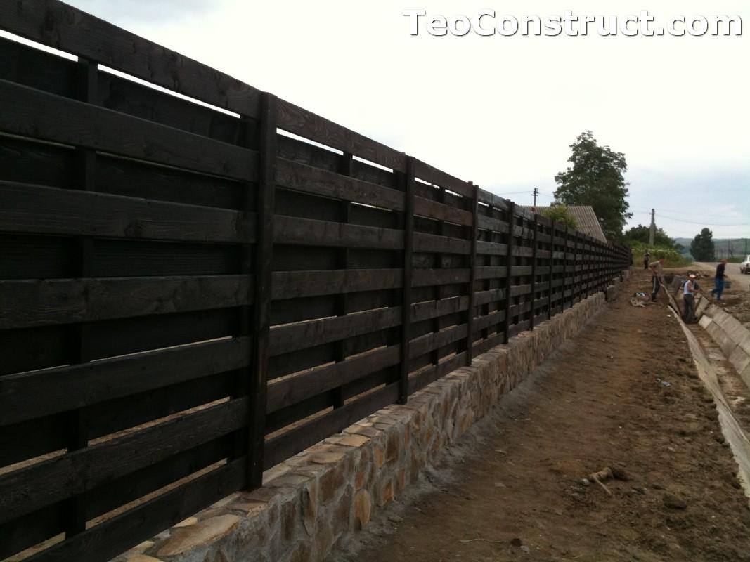 Garduri ornamentale din lemn Targoviste 3