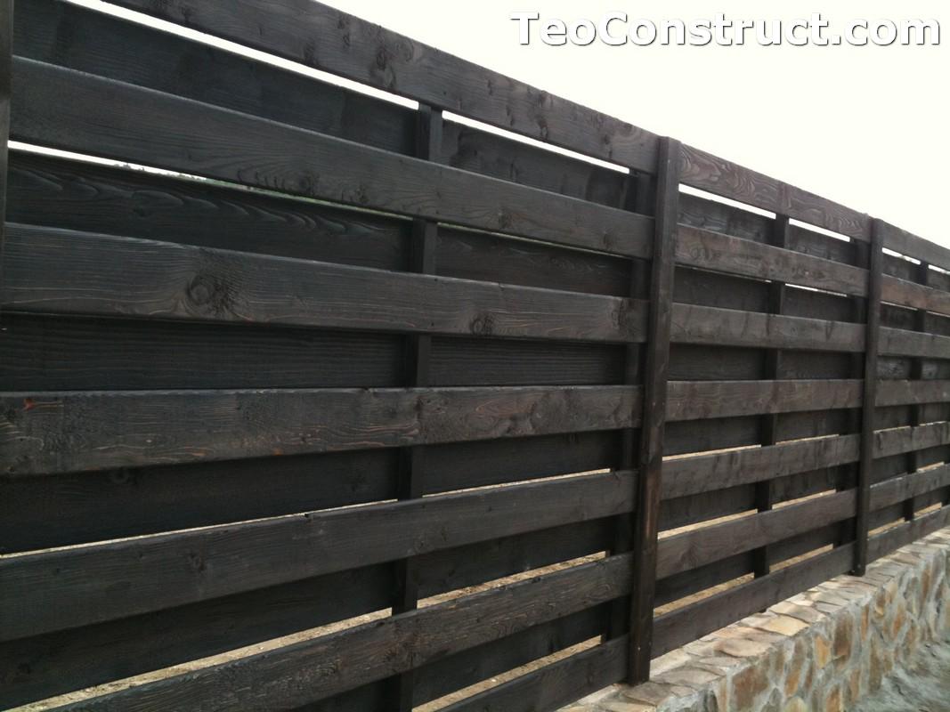 Garduri ornamentale din lemn Targoviste 4
