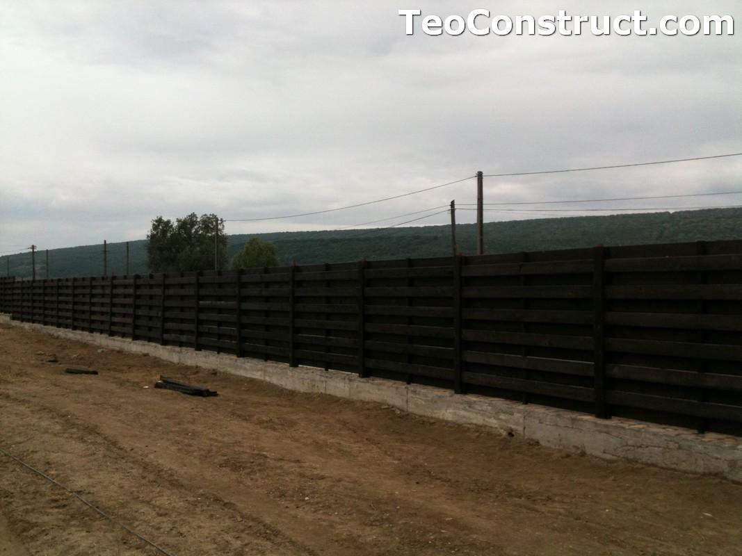 Garduri ornamentale din lemn Targoviste 6