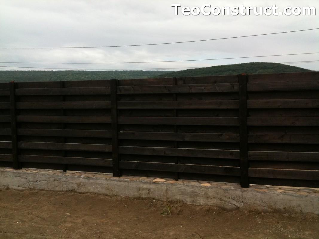 Garduri ornamentale din lemn Targoviste 7