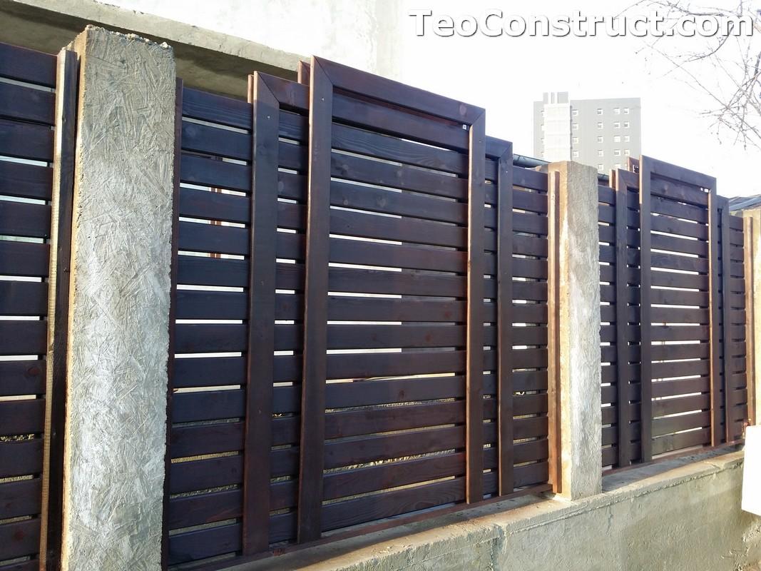 Garduri si porti din lemn 1