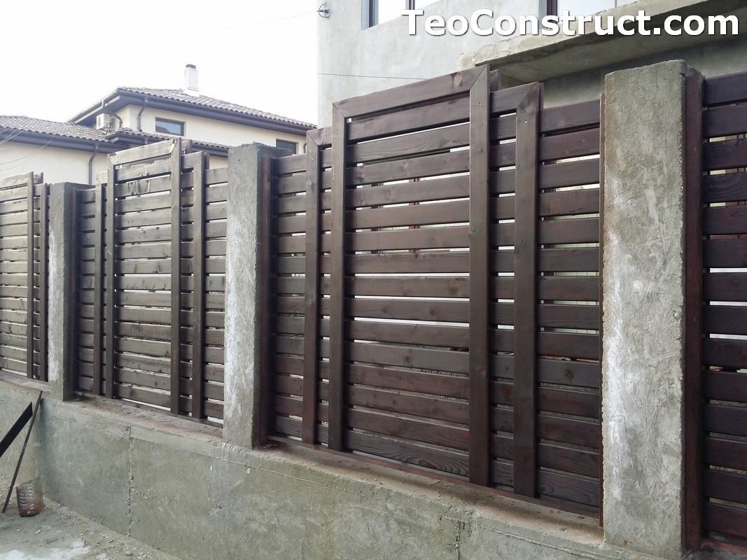 Garduri si porti din lemn 2
