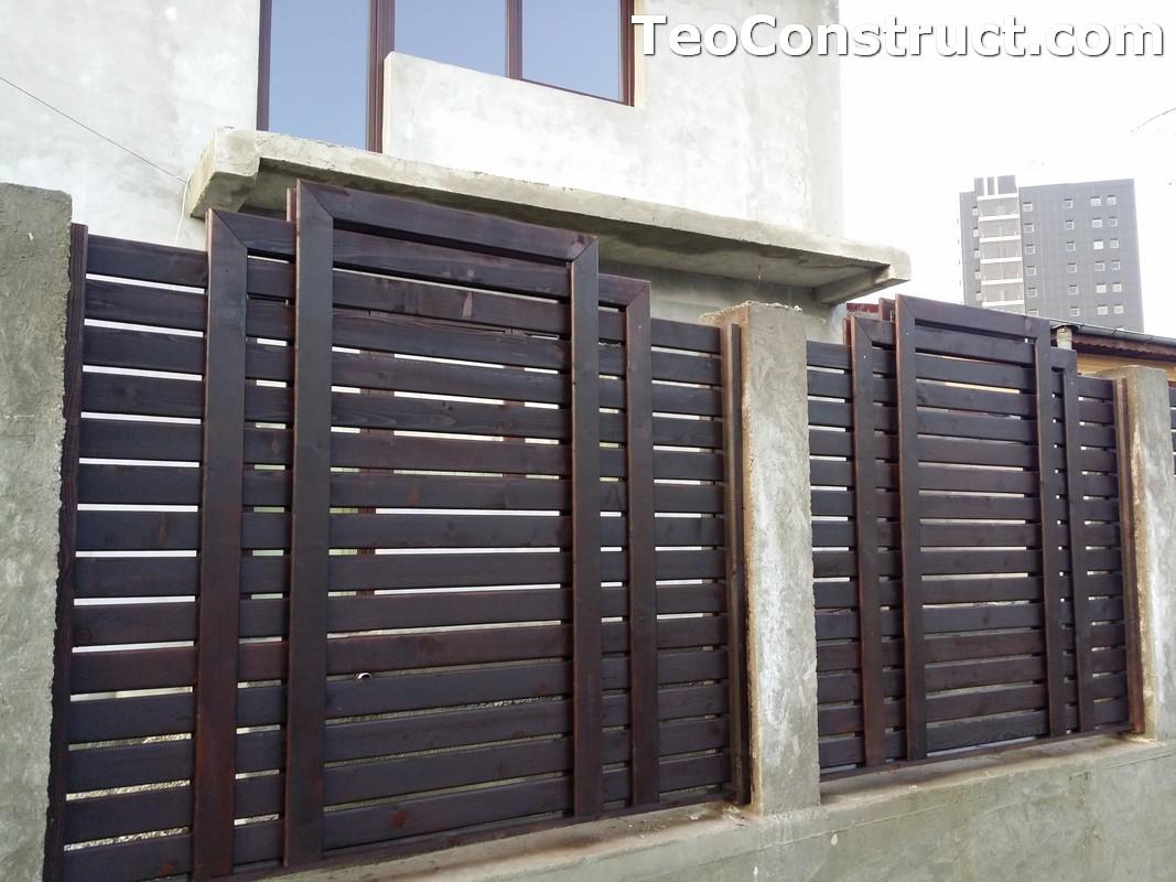 Garduri si porti din lemn 3