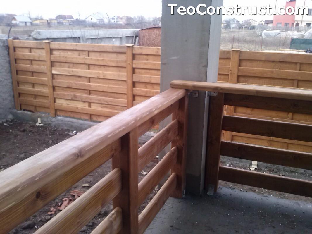 Garduri si porti din lemn Bucuresti 1