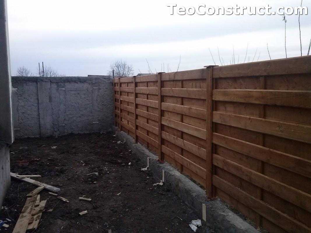 Garduri si porti din lemn Bucuresti 2