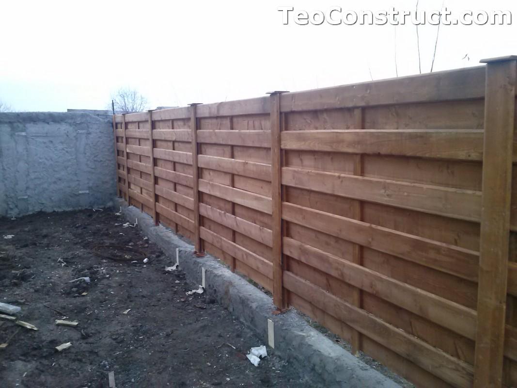 Garduri si porti din lemn Bucuresti 3