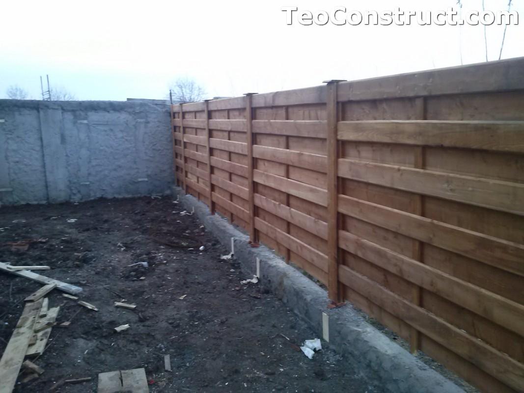 Garduri si porti din lemn Bucuresti 4