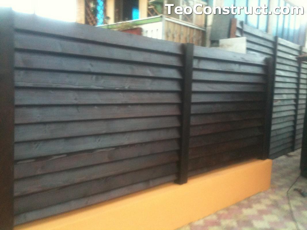 Modele garduri din lemn Blaj 10
