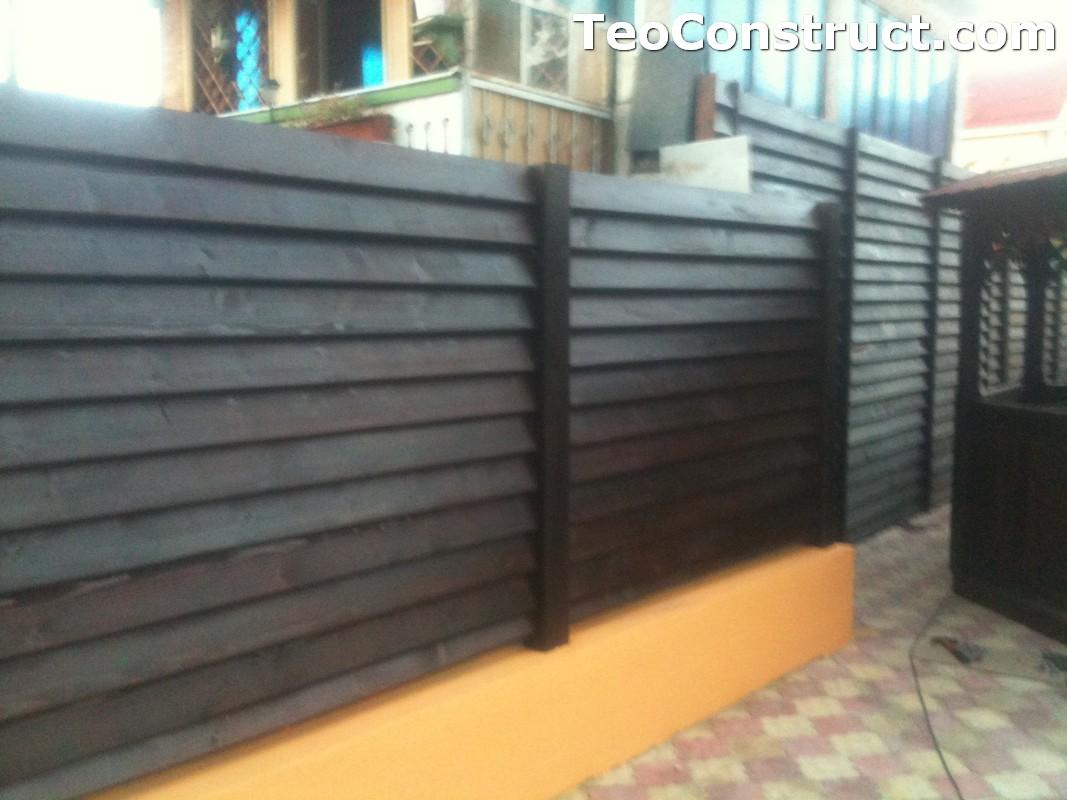 Modele garduri din lemn Blaj 11