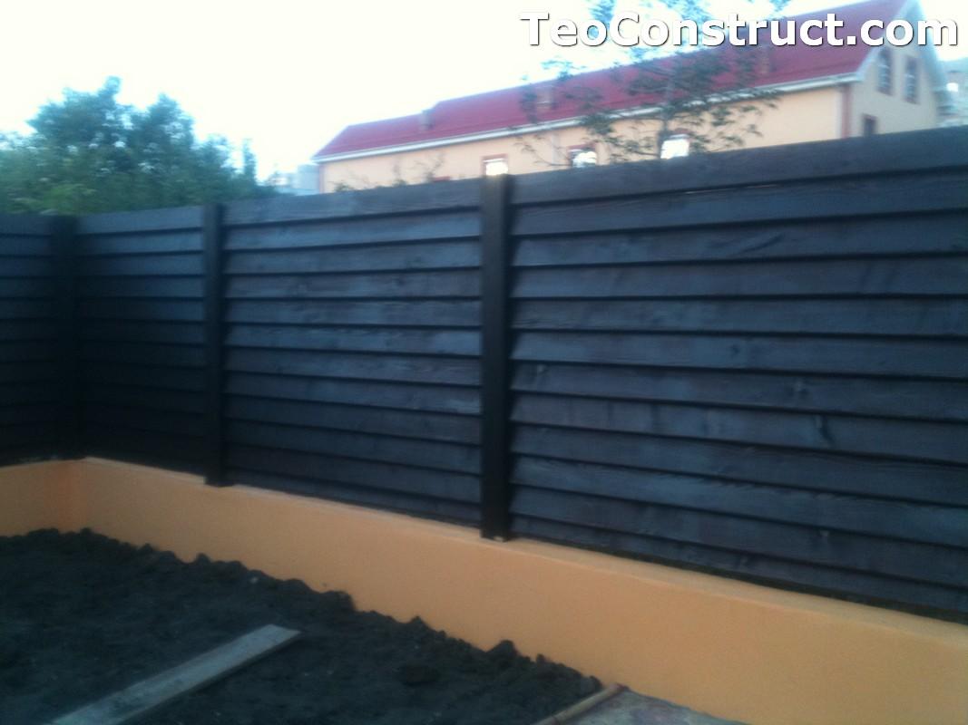 Modele garduri din lemn Blaj 15