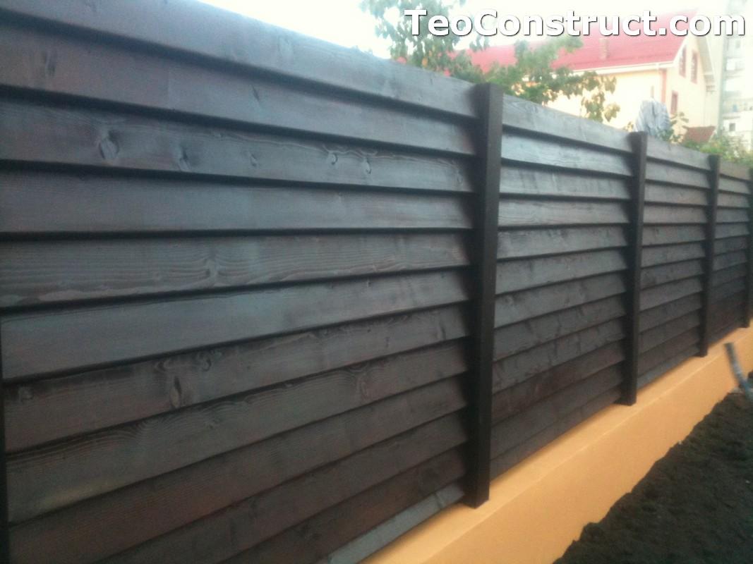 Modele garduri din lemn Blaj 8