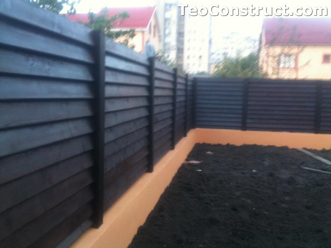 Modele garduri din lemn Blaj 9