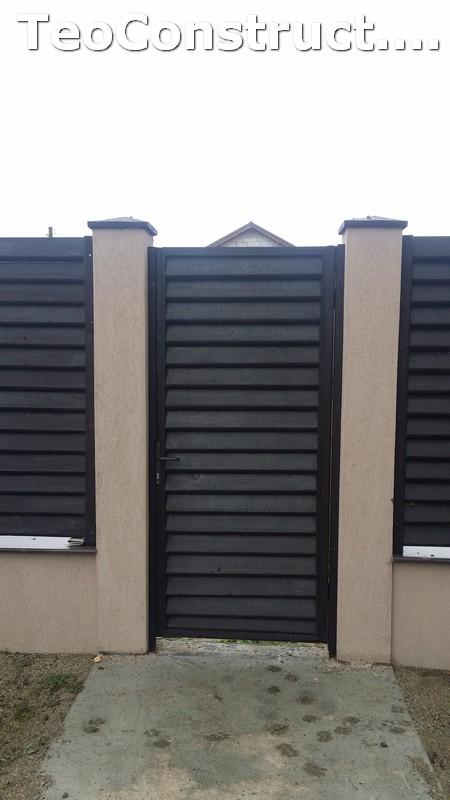 Modele garduri din lemn  Navodari 13