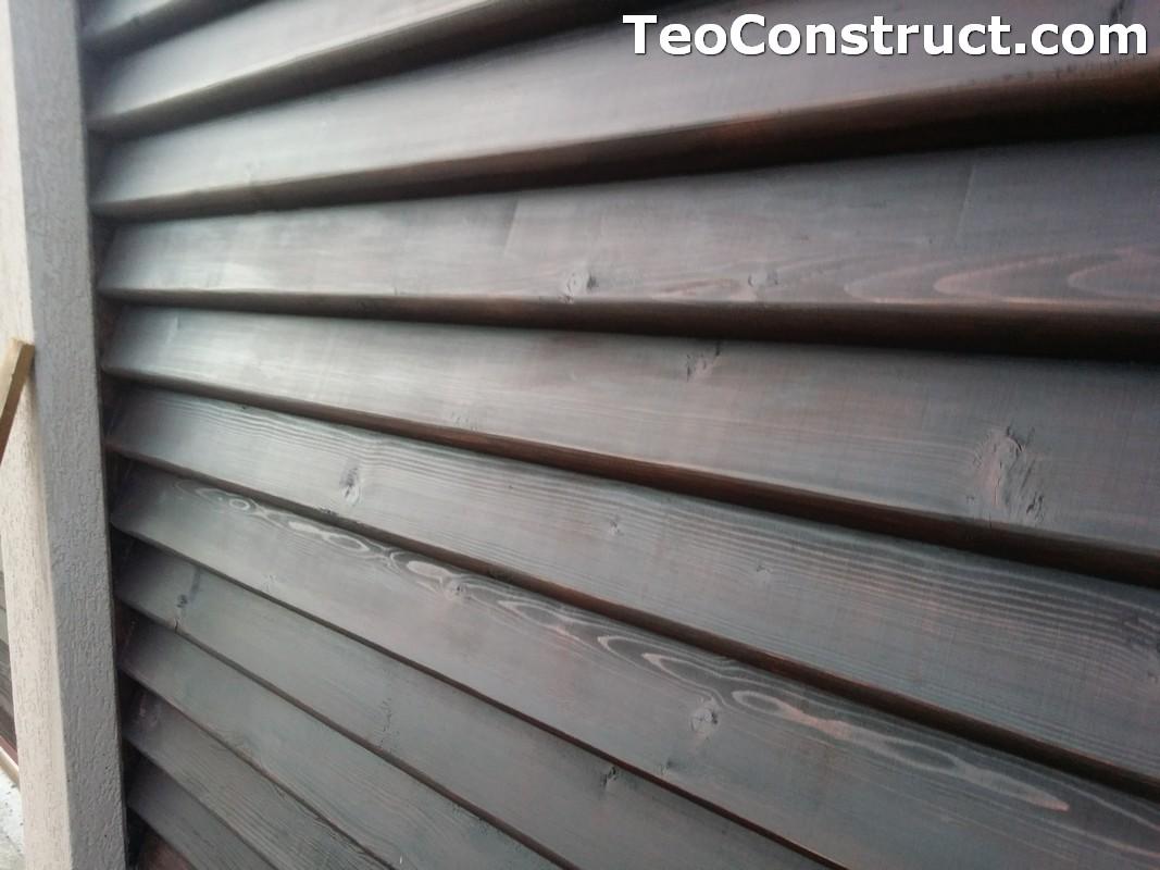 Modele garduri din lemn  Navodari 6