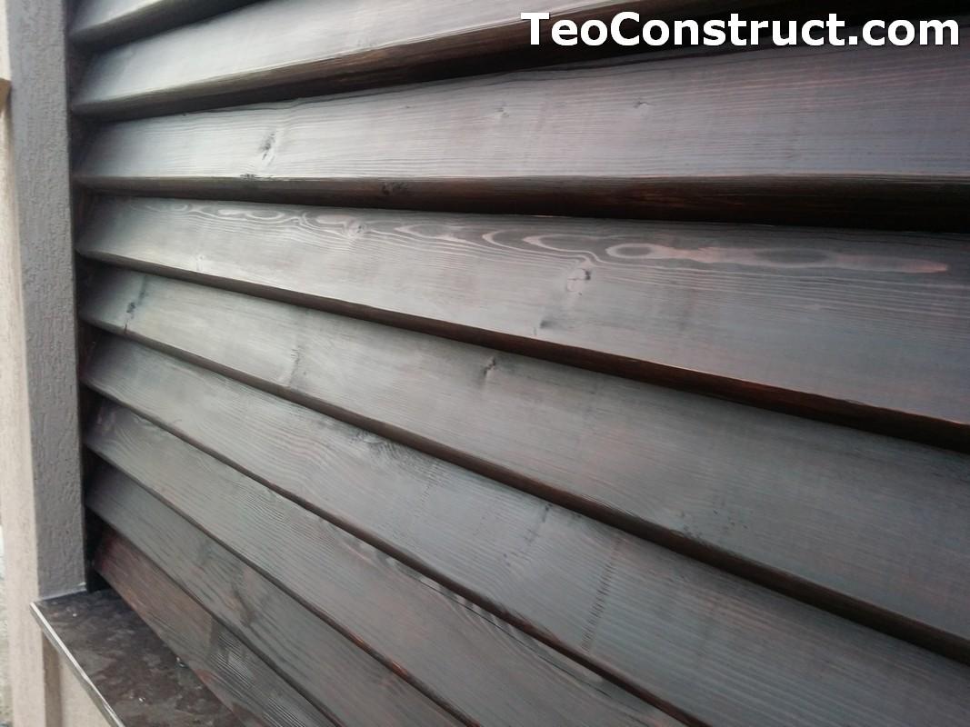 Modele garduri din lemn  Navodari 7