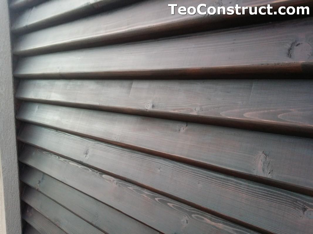 Modele garduri din lemn  Navodari 8