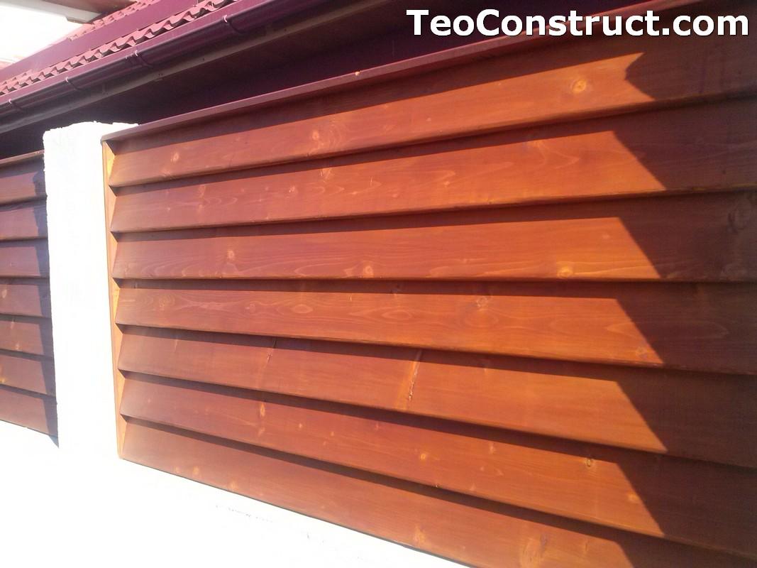 Preturi garduri de gradina din lemn 3