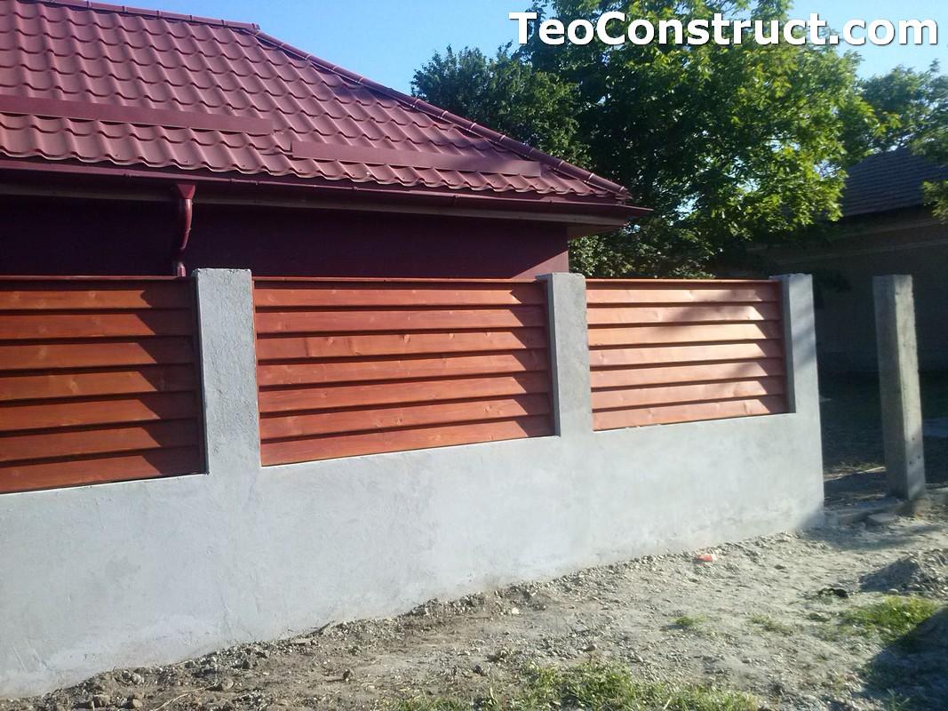 Preturi garduri de gradina din lemn 7