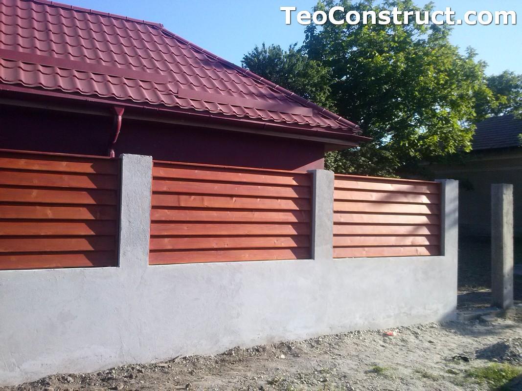 Preturi garduri de gradina din lemn 8
