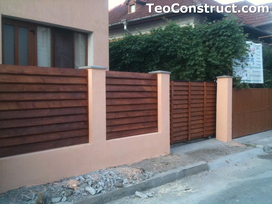 Preturi garduri de gradina din lemn Alexandria 1