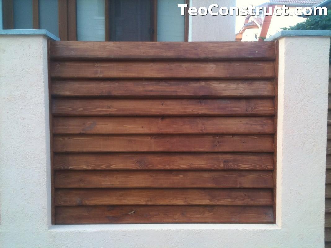 Preturi garduri de gradina din lemn Alexandria 10
