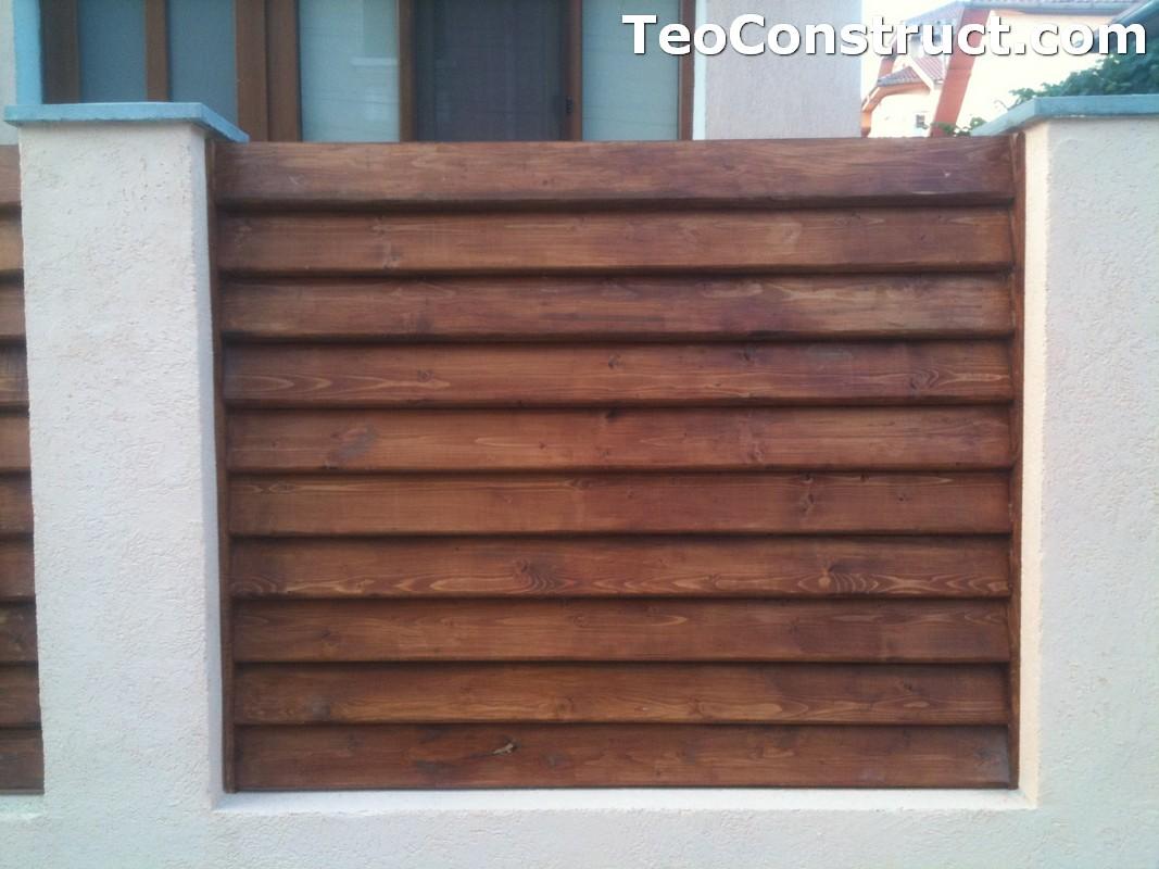Preturi garduri de gradina din lemn Alexandria 11