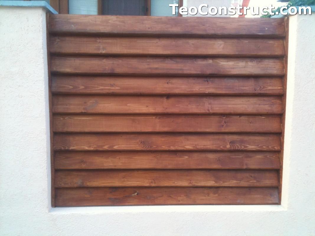 Preturi garduri de gradina din lemn Alexandria 12