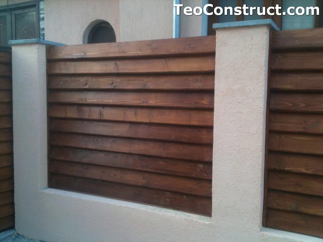 Preturi garduri de gradina din lemn Alexandria 13