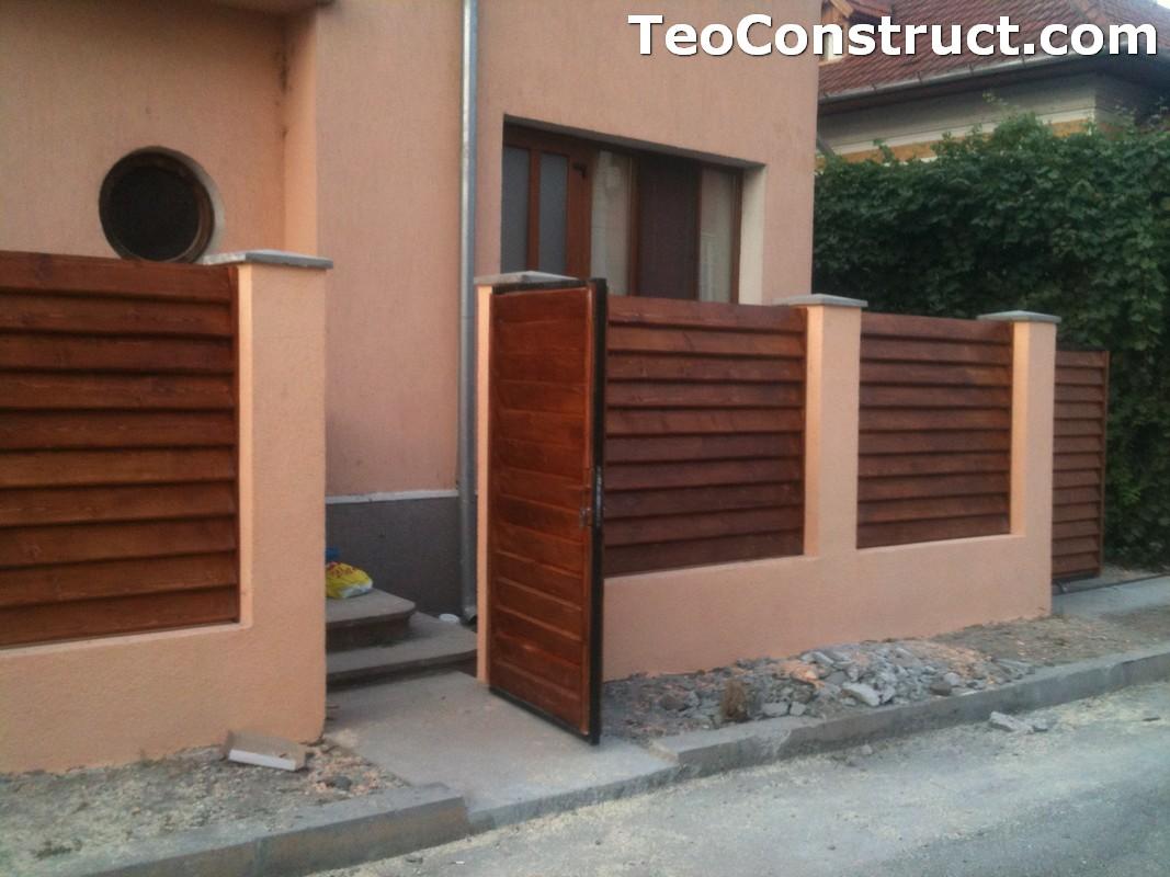 Preturi garduri de gradina din lemn Alexandria 14