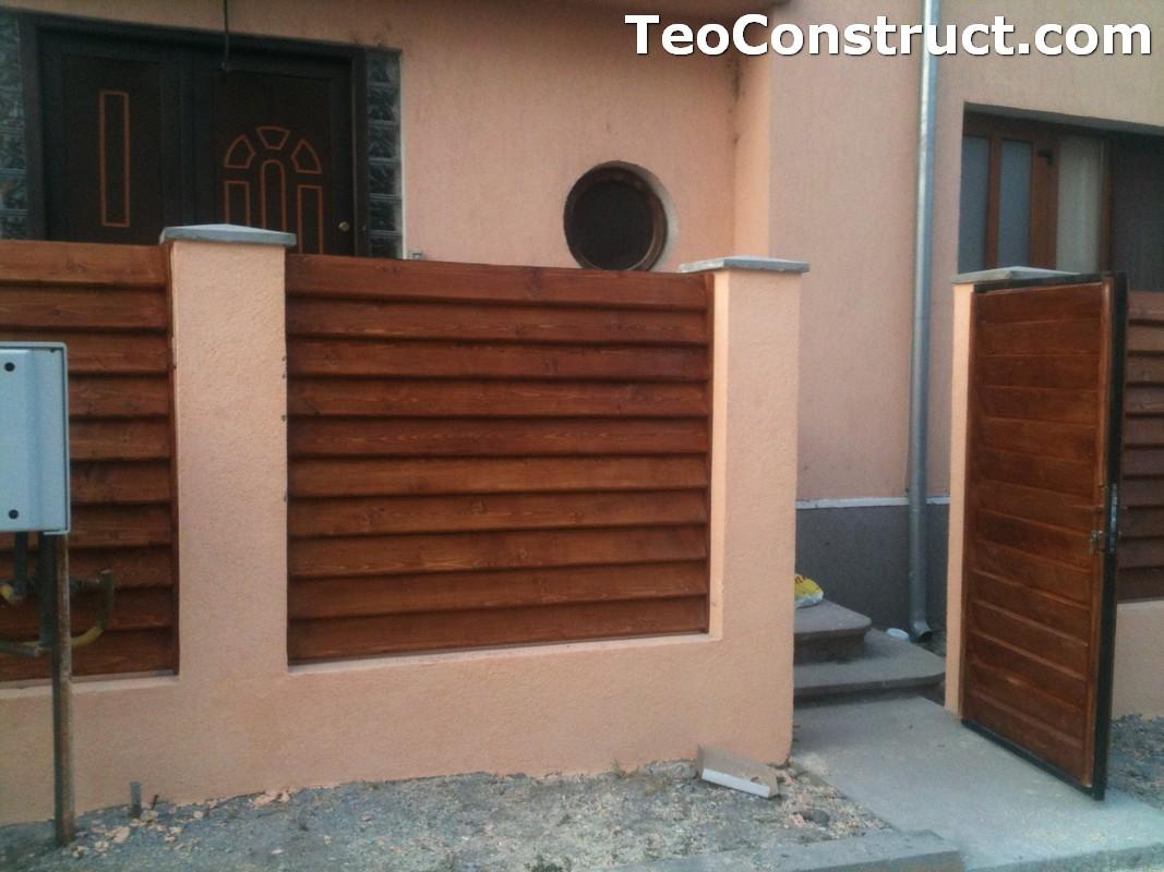 Preturi garduri de gradina din lemn Alexandria 15